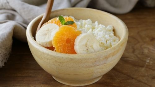 cottage cheese- best healthy snacks