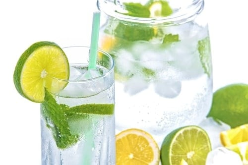 Drinking water- weight loss drinks