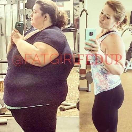 Lexi Reed weight Loss Transformation