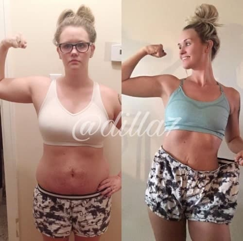 Kassidy Weight Loss Transformation