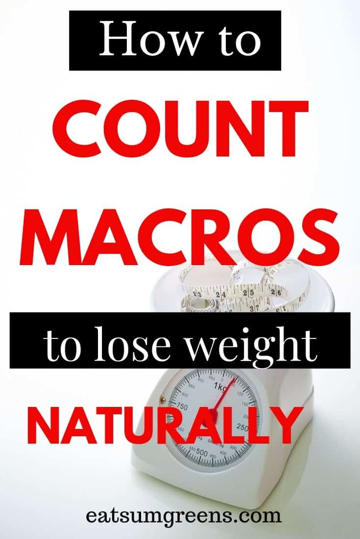 How to use macro diet for weight loss