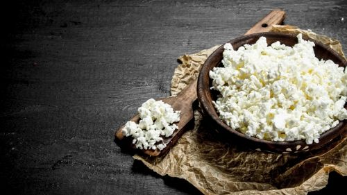 Cottage cheese for snacking