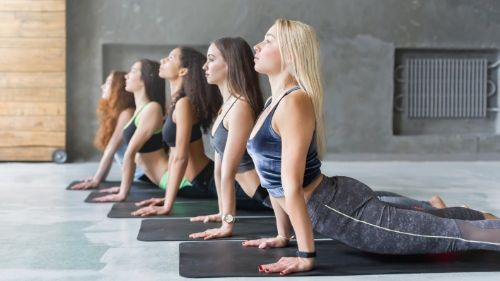 regular yoga sessions for weight loss