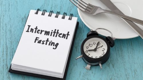 Intermittent fasting to eat less