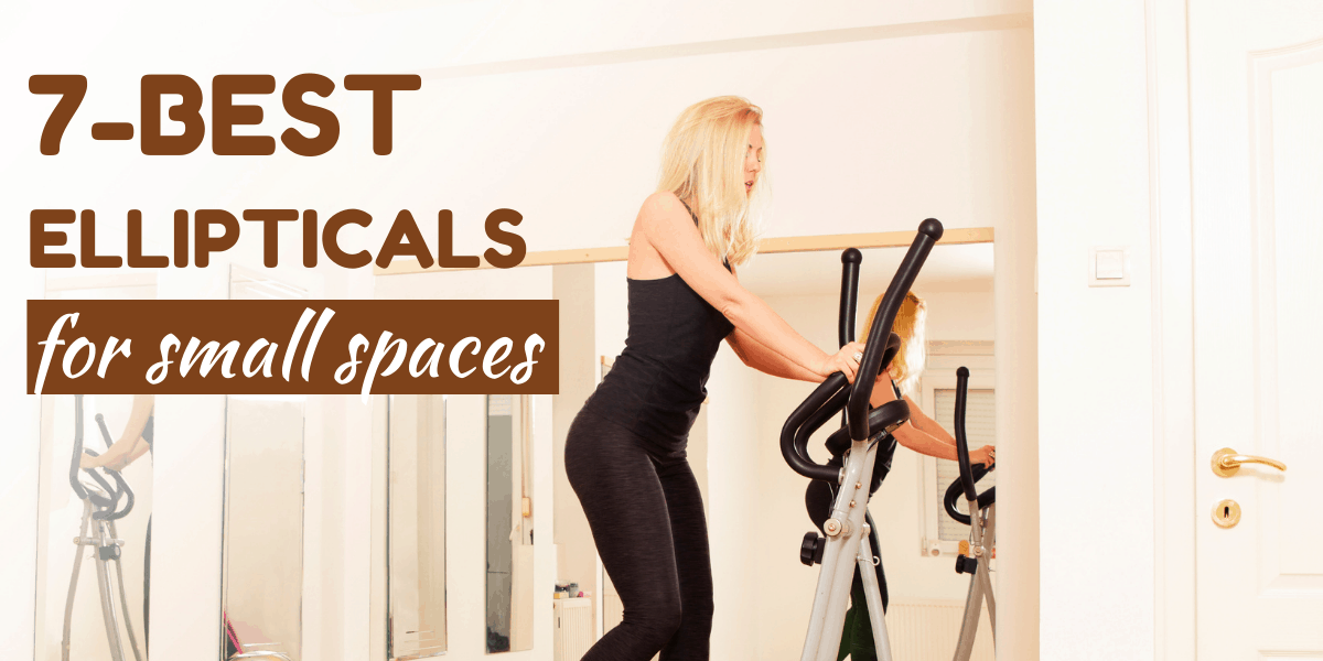 woman working out on elliptical machine