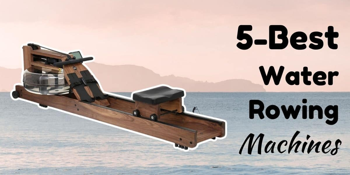 A water rowing machine